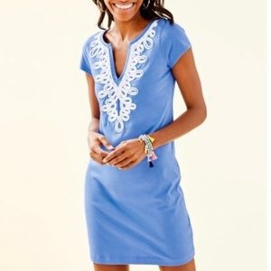 Lilly Pulitzer Brewster Shift Blue Dress XS